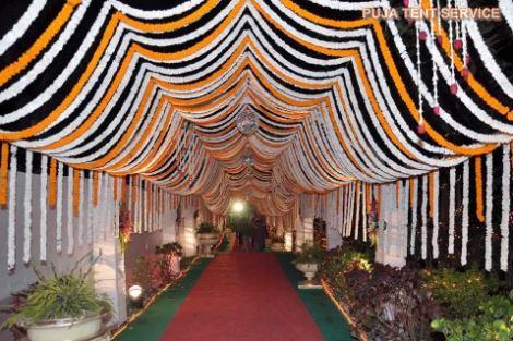 Puja tent service caterer doranda ranchi 9835167469 flower decoration flower decoration junglespirit Gallery